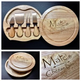 Cheese Board - Knife Set