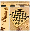 Chess/Draught Board - Child's