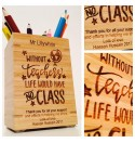 Personalised Pencil Pot 4 - Teacher Gift