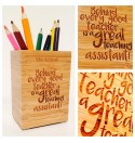 Personalised Pencil Pot 5 - Teacher Gift